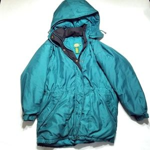 Cabelas For Women Vintage Hooded Insulated Jacket